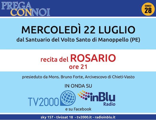 rosario tv 22 luglio 2020