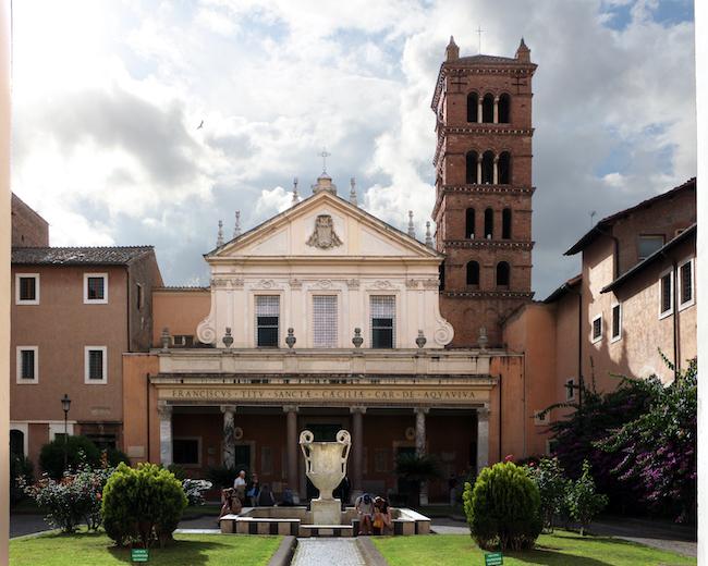 santa cecilia in trastevere roma