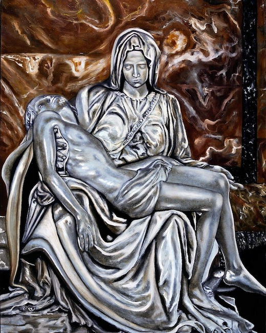 Pieta-Homage an Michelangelo