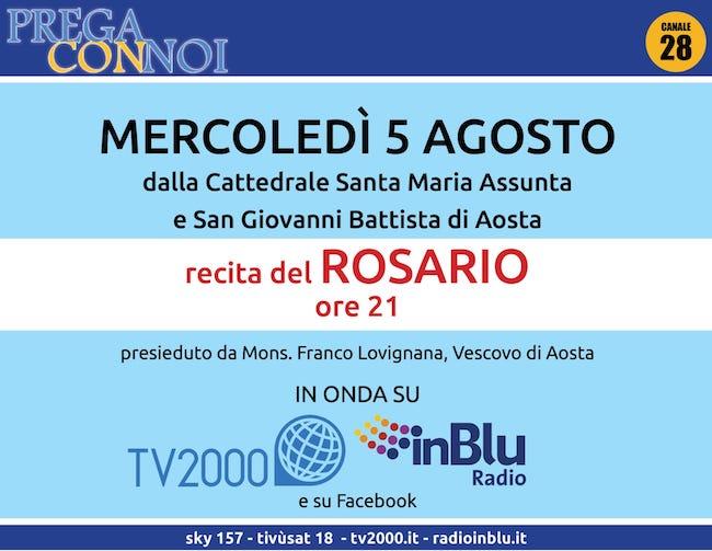 rosario aosta 5 agosto 2020