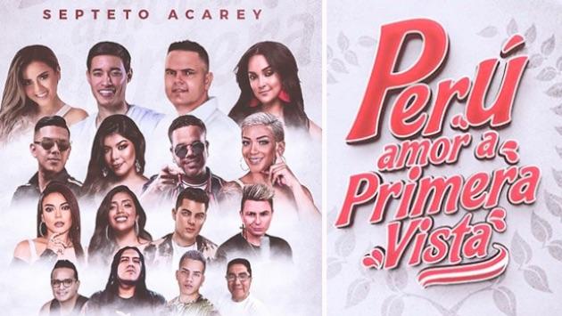 septeto acarey estreno perù amor a primera vista