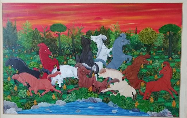 cavalli imbizzarriti