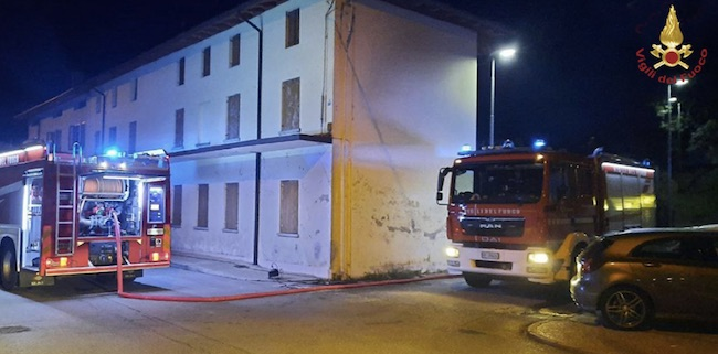 incendio bar pordenone