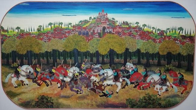 La battaglia dei castellani