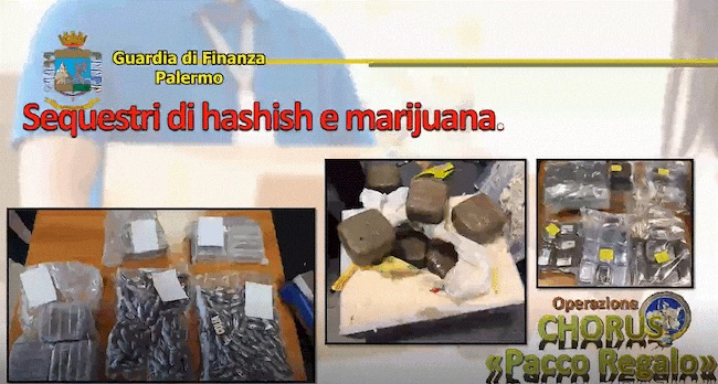 sequestri hashish marijauana