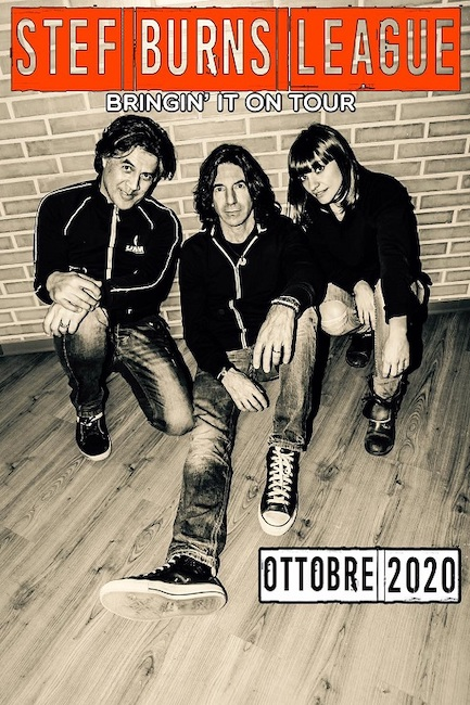 Stef Burns League: date tour 2020 in Italia