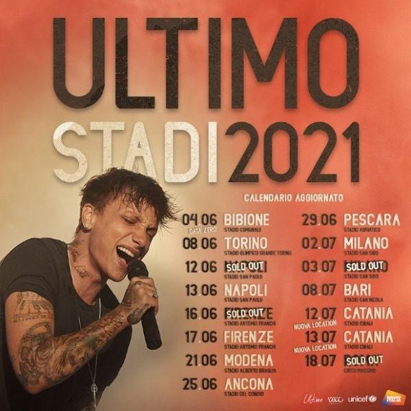 ultimo tour 2021