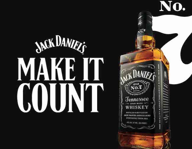 Jack Daniel's, Make It Count: la nuova piattaforma di comunicazione