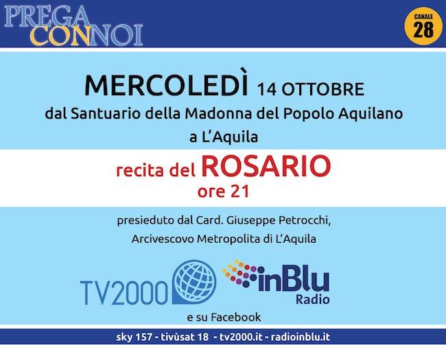 rosario l'aquila 14 ottobre 2020