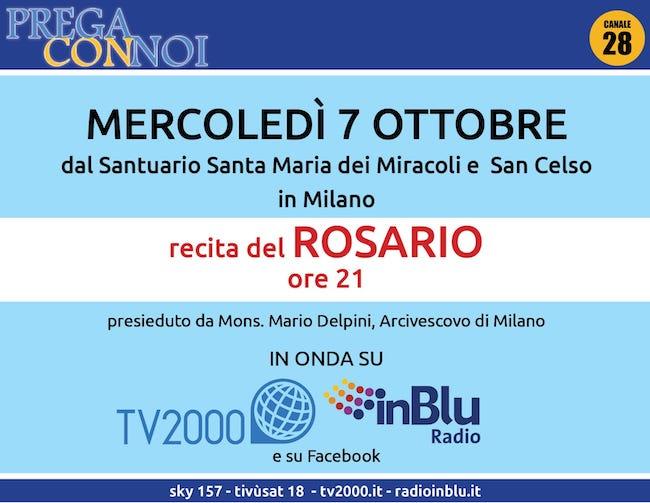 rosario milano 7 ottobre 2020