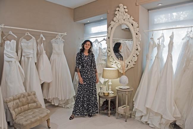 bridal stylist Tamara D'Andria