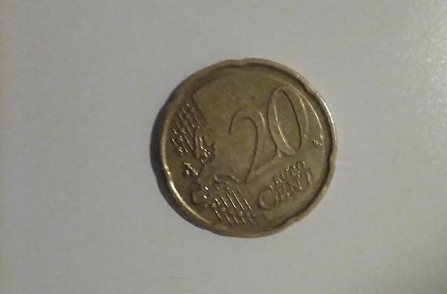 20 centesimi