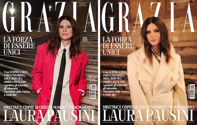 cover grazia pausini