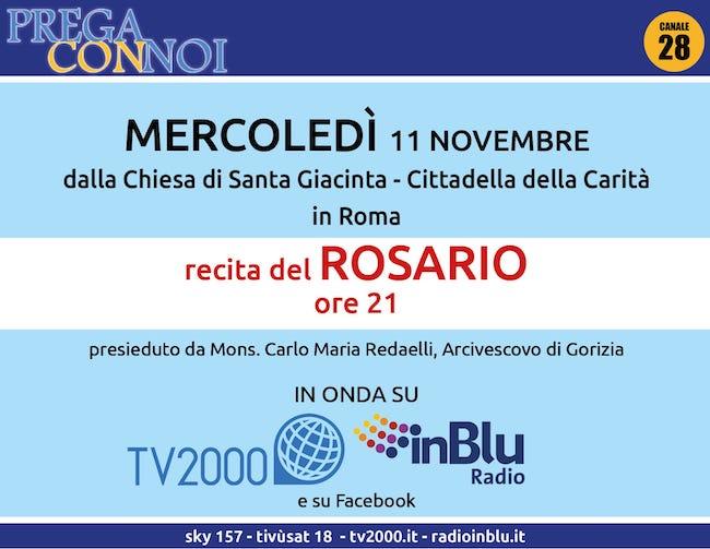 rosario roma 11 novembre 2020