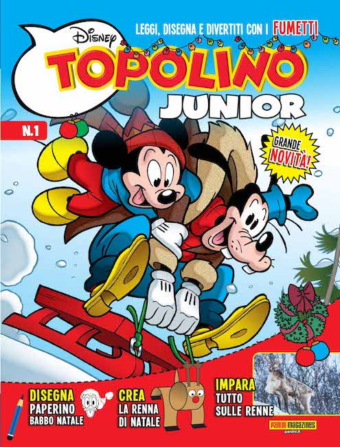 topolino junior cover