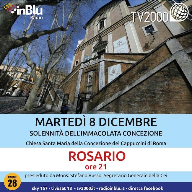 rosario cei 8 dicembre 2020