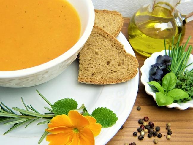 zuppa farro