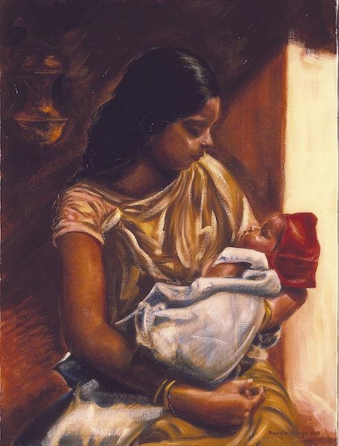 maternità indiana