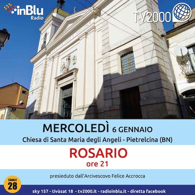 pietralcina rosario 6 gennaio 2021