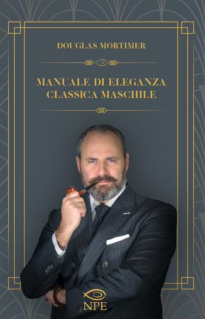 cover manuale di eleganza classica maschile