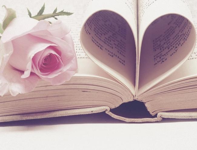 rosa libro cuore