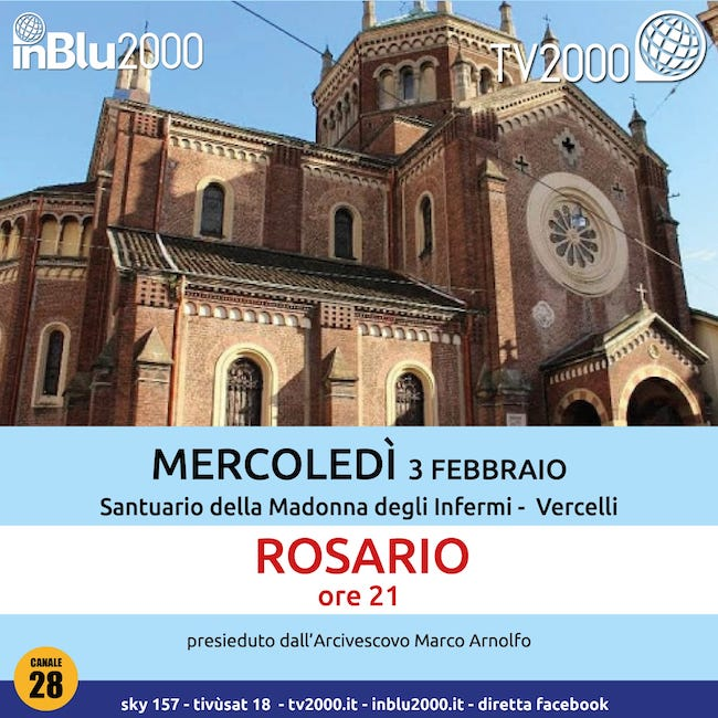 rosario vercelli 3 febbraio 2021