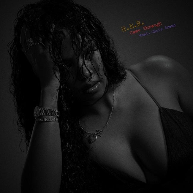 H.E.R. Chris Brown Come Through cover
