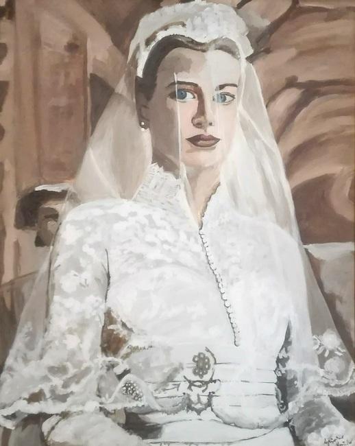 Il ritratto di grace kelly agrippino martello