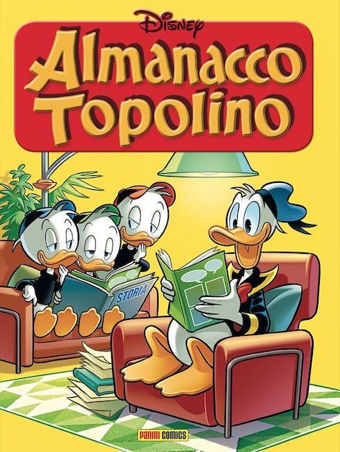 almanacco topolino cover