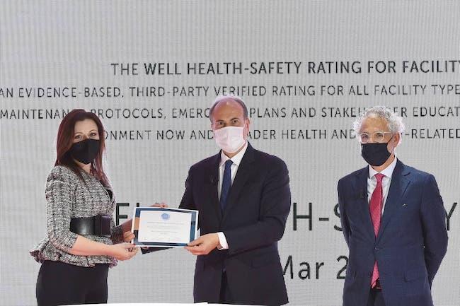 Gianfranco Battisti e certificazione WELL Health-Safety Rating