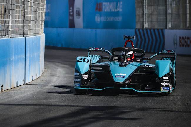 Mitch Evans (NZL) Panasonic Jaguar Racing, Jaguar I-Type 5