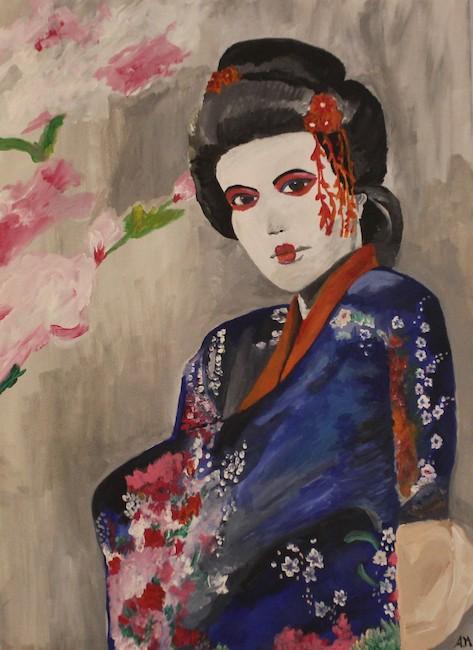 la geisha agrippino martello