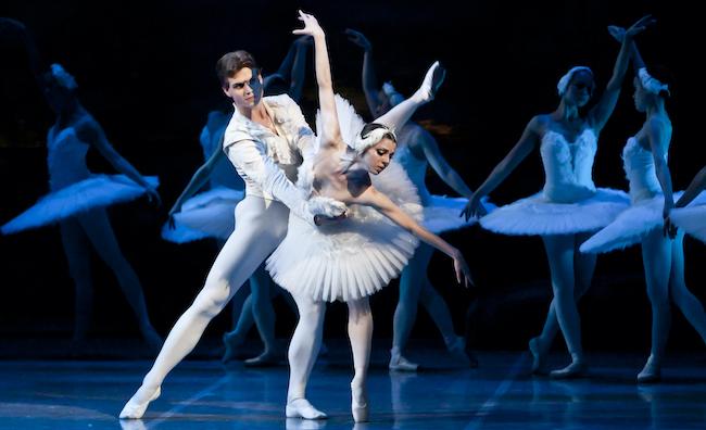 Lago dei Cigni |  un filmato dell'Accadermia Ucraina di Balletto