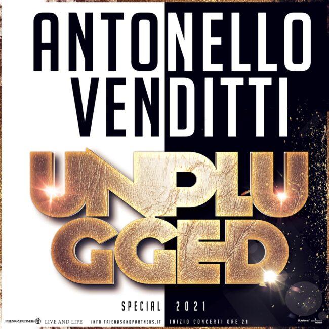 Antonello Venditti Unplugged Special 2021, le date del tour