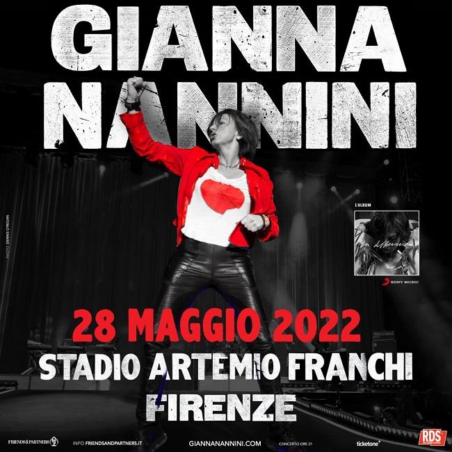 Gianna Nannini tour cover