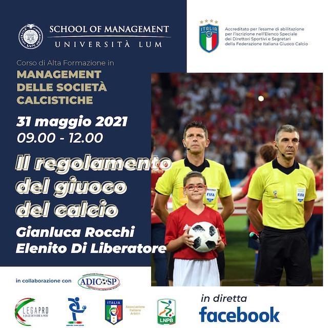 il regolamento calcio
