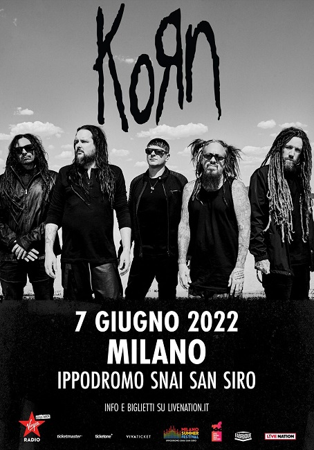 korn cover date