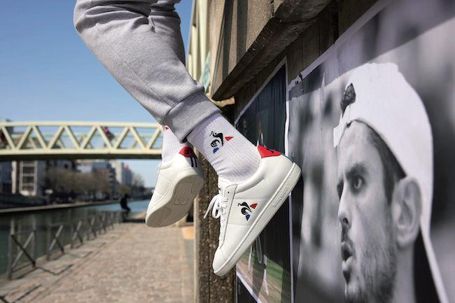 Le Coq Sportif, due modelli stile tennis uomo storici e reinterpretati
