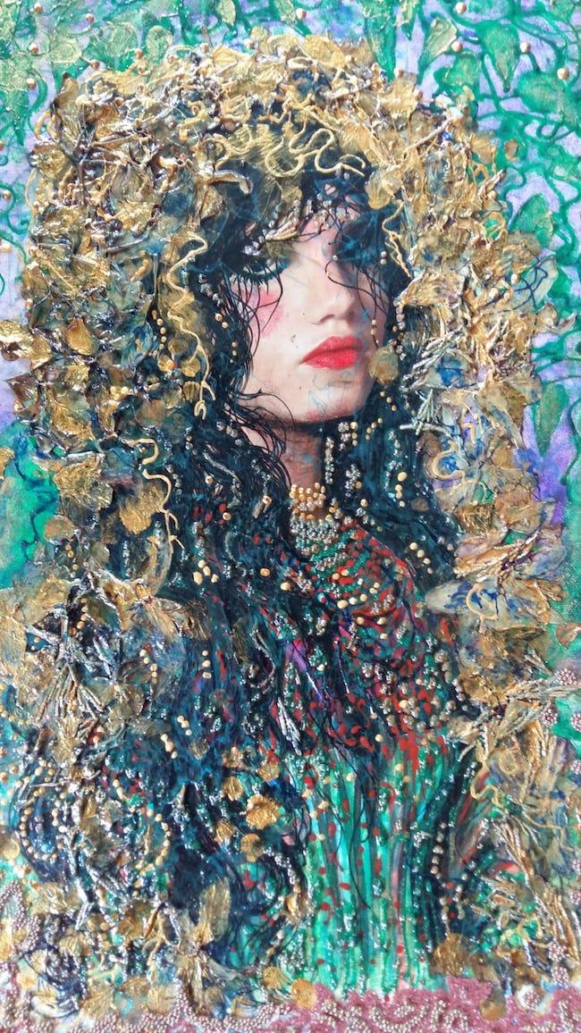 medea with the golden vliess
