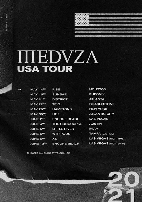 meduza tour giugno luglio