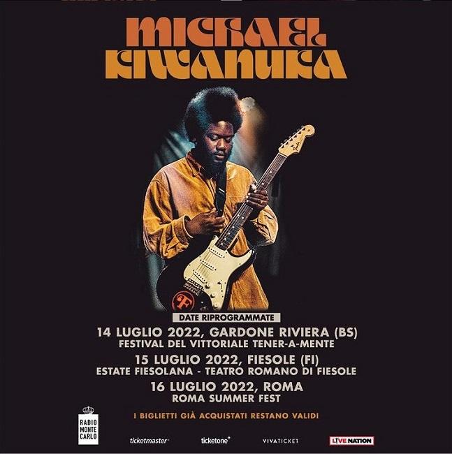 Michael Kiwanuka, riprogrammato il tour nel 2022: date e biglietti [VIDEO]