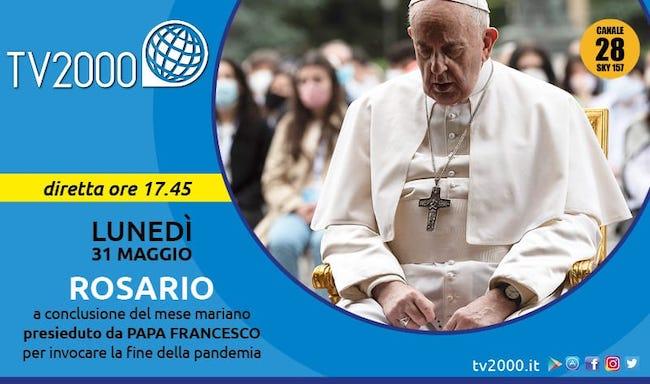 Rosario Papa 31 maggio 2021