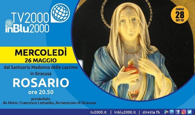 tv 2000 rosario 26 maggio 2021