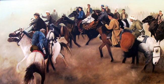 cavalieri afghani