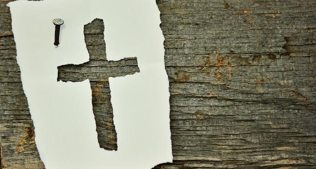croce legno