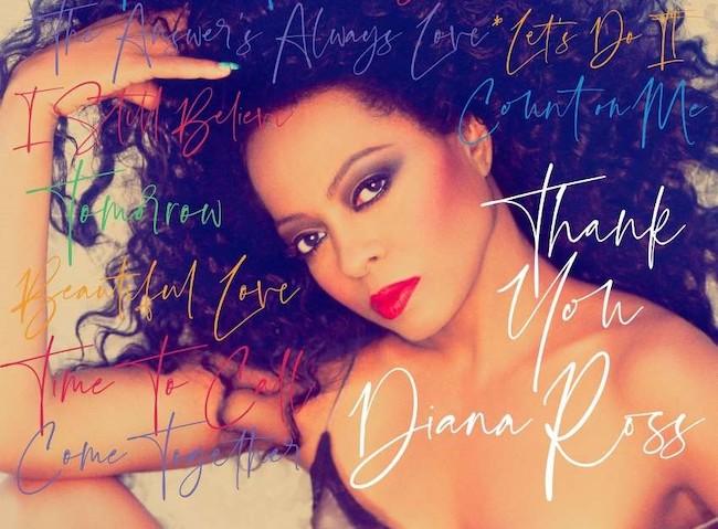 diana ross thank you album