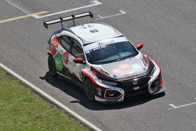 Girolami Franco, Honda Civic H56 FK2 #63, MM Motorsport