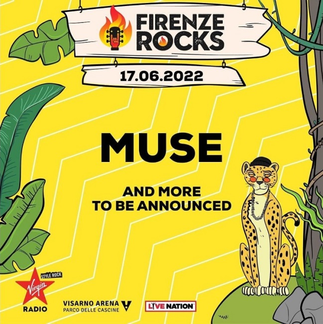 muse firenze rocks cover