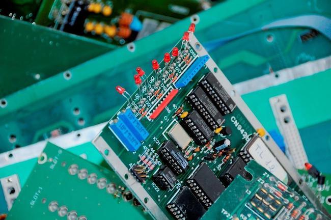 scheda elettronica web
