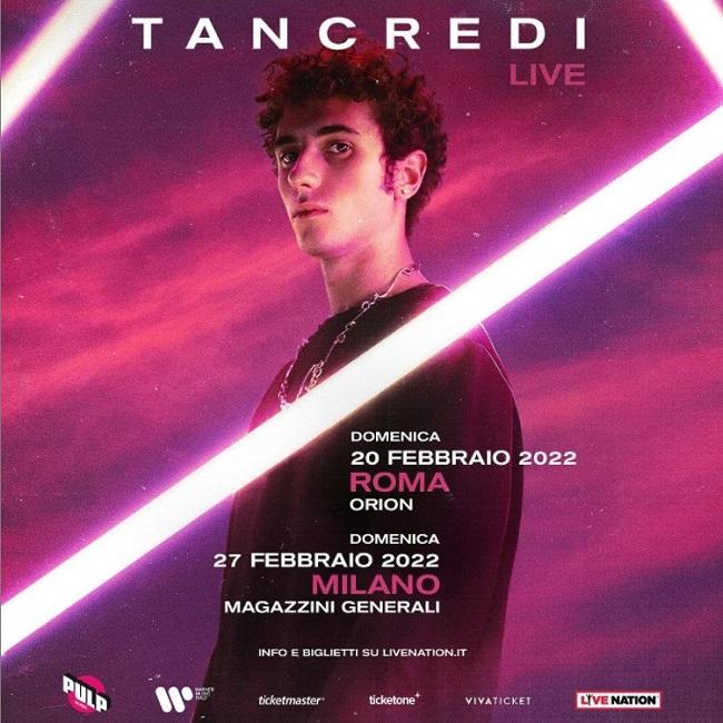 tancredi cover tour
